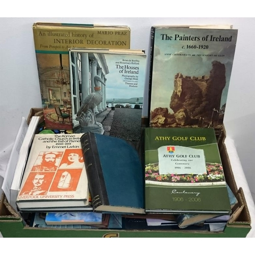 6 - Large Box of General Irish Interest Books...