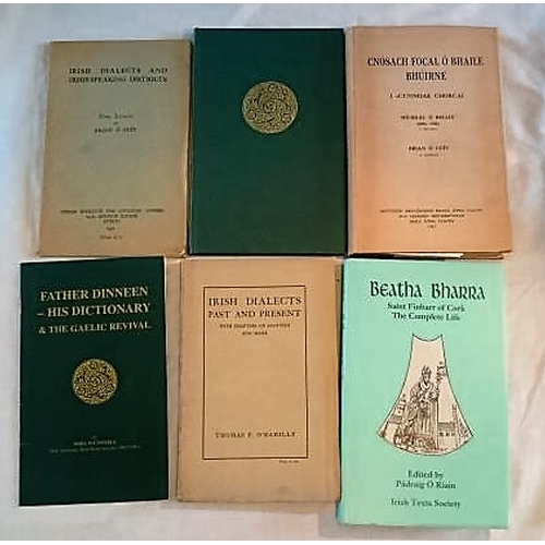 26 - Tomás Ó Rahilly, Irish Dialects, Past and Present (1932); Brian Ó Cuiv,  Irish Dialects and Irish Sp...