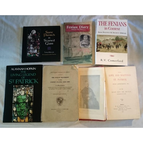 30 - Dr. Healy, The life and writings of St. Patrick (D 1905); Hopkin,  Living Legend of St. Patrick (198...