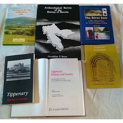 33 - Tipperary Interest: The Archaeological Survey of Ikerrin  (1984); Tipperary Remembers (1976); Tipper...