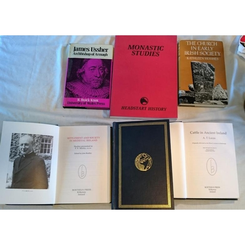 38 - Kathleen Hughes, The Church in Early Irish Society  (1966); John Bradley, Settlement and Society in ...