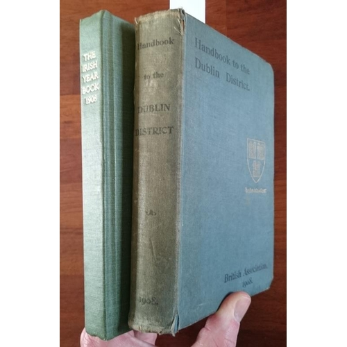 48 - Leabhar na hÉireann. The Irish Year Book. 1908. An Chomhairle Náisiúnta. The National Council : Dubl...