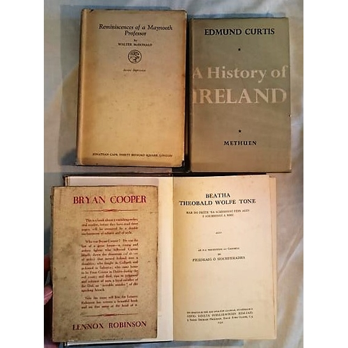 50 - Walter McDonald,  Reminiscences of a Maynooth Professor (1926); Curtis, A History of Ireland (1952);...