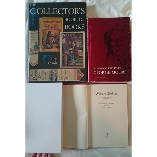 59 - Bibliography: The Collector's Book of Books; Folio; Bibliography of Wm Golding. Limited Edition of 9...