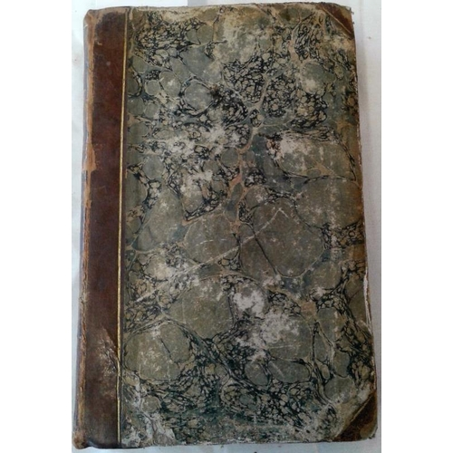 76 - The Cottagers of Glenburnie.  Elizabeth Hamilton.  1808. Half-leather. bound by Andrew James Watson ...