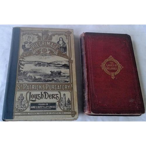 77 - The Lakes of Killarney by R. M. Ballantyne. 1859. Colour plates & St. Patrick's Purgatory, Lough Der...