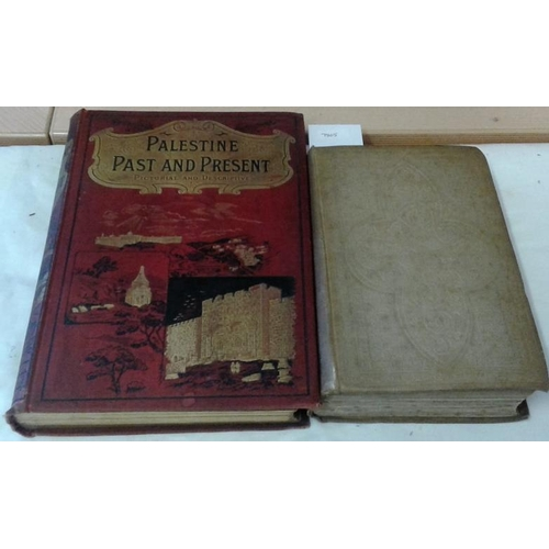 110 - Handbook to the Cathedrals of England. Eastern Division. London. 1862. Cloth. & Palestine Past and P...