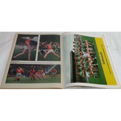 120 - Centenary hurling final Programme. 1984. Cork versus Offaly...