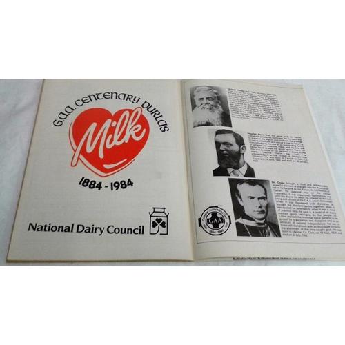 120 - Centenary hurling final Programme. 1984. Cork versus Offaly...