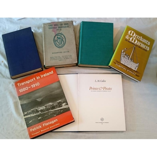 132 - Helen Landreth, The Pursuit of Robert Emmet 1949); Frank McDermott, T.W. Tone (1939); Rosamund Jacob...