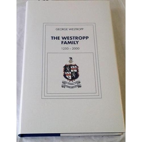 134 - The Westropp Family 1250-2000. George Westropp.   dust wrapper. The Westropps a leading landed famil...