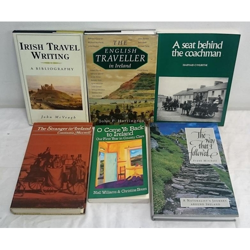142 - Travel:  Irish Travel Writing  (1996); The Way that I Followed  (1990);  The English Traveller in Ir...