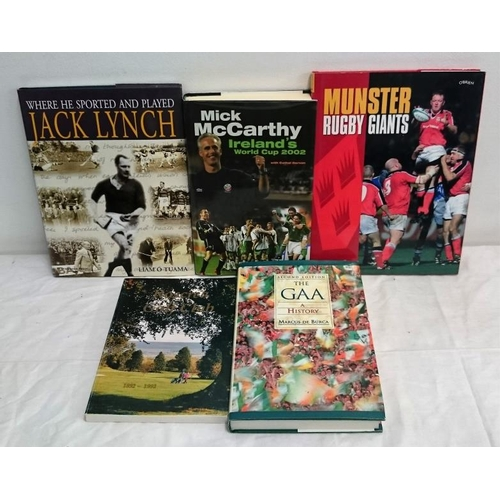 145 - Irish Sport: M.de Búrca,  The GAA (1999); Cunningham,  Roscrea Golf Club (1992); Mick McCarthy  (200...