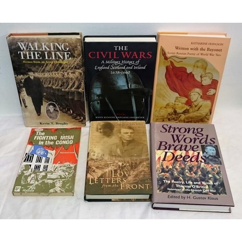 158 - Military: The Civil Wars, 1638-1660 |(1998); Written with the Bayonet (1996); Love Letters from the ...