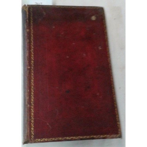 159 - Walk in and about  Cantenbury with many observations by William Gostling.  Canterbury. 1825. Leather...
