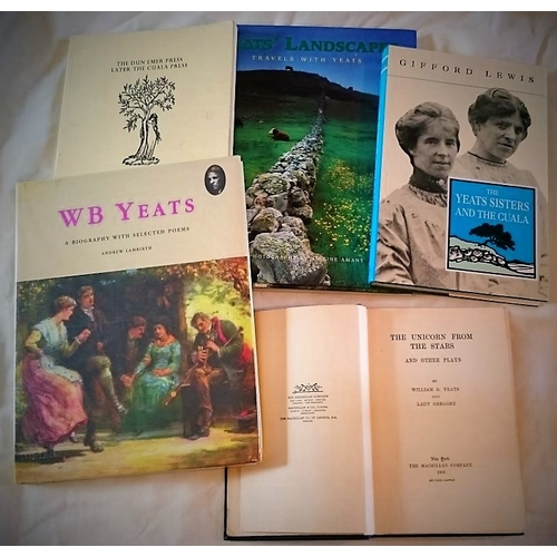 164 - Yeats Related; WB Yeats, The Unicorn and the Stars (NY 1908); Gifford Lewis, The Yeats Sisters and t...