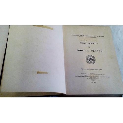 165 - Book of Fenagh.  Dublin. 1939. &  Book of Fenagh Supplementary volume. 2 books....