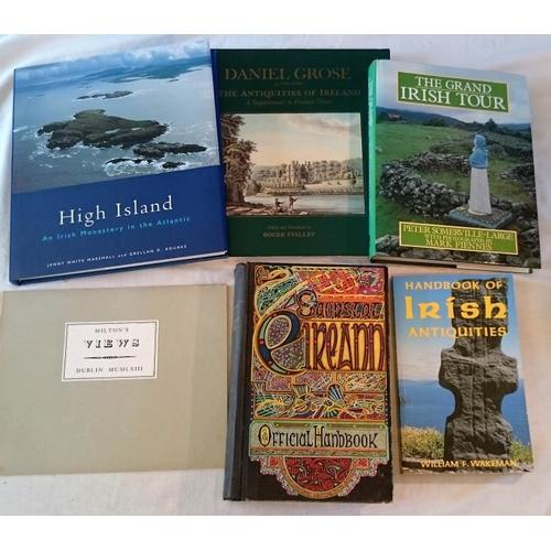 168 - Roger Stalley, Grose, The Antiquities of Ireland (1991); Milton's  Views (Dolmen 1969); Saorstát Éir...