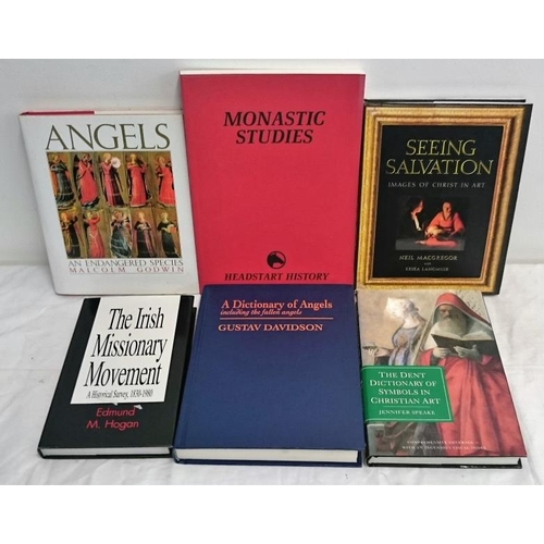 172 - Religion Related: Dictionary of Symbols in Christian Art (1994); Angels (1990); Dictionary of Angels...