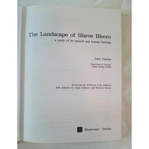 182 - John Feehan, Landscape of Slieve Bloom (D. 1979). First Edition of a Classic Study in Mint Condition...