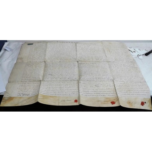 198 - Indenture. 1804. John Moore to Philip Tierney of the Hill of Rath, County Louth etc. large vellum do...