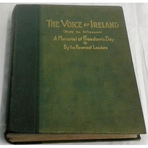 219 - The Voice of Ireland [Glor na hEireann] A Survey of the Race and Nation from all Angles. William G. ...