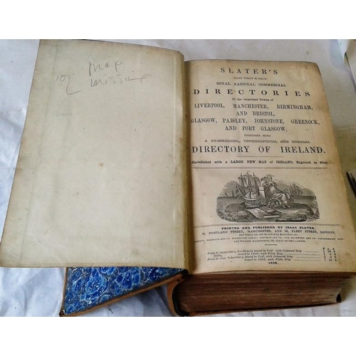 225 - Slater's Commercial, Topographical and General Directory of Ireland. London. 1858. Large format. Ful...