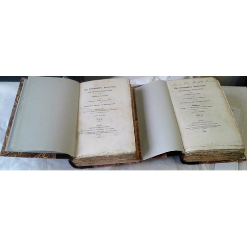 247 - The Ecclesiastical Conferences Translated by Rev. Boylan, Maynooth. Dublin. 1825. 2 volumes. Superb ...