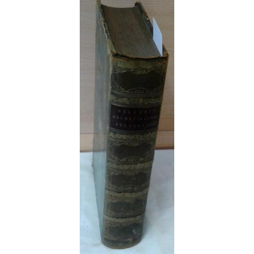 258 - A Dictionary of the Architecture and Archaeology of the Middle Ages by John Britton. London. 1838. H...