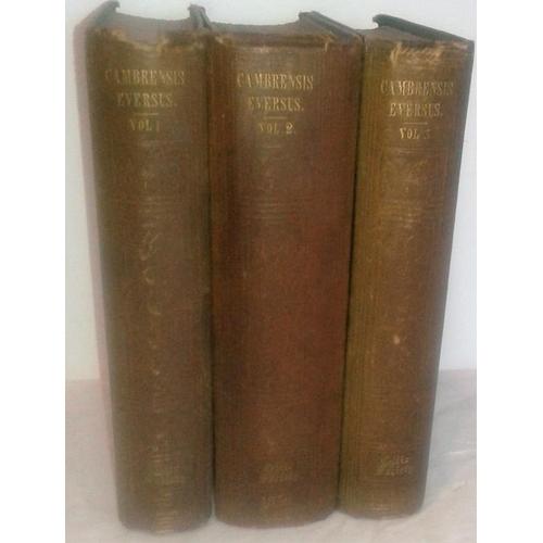265 - Cambrensis Eversus,  Fides in Rebus Hibernicis. Giraldo Cambrensi.     Edited  by  Rev. Matthew Kell...