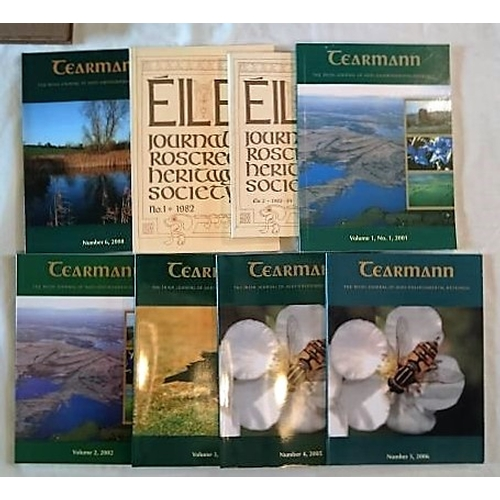 272 - Journals: Éile, JN of the Roscrea Heritage Socient, N0. 1 1982, No. 2, 1983-84 (all published);  Tea...
