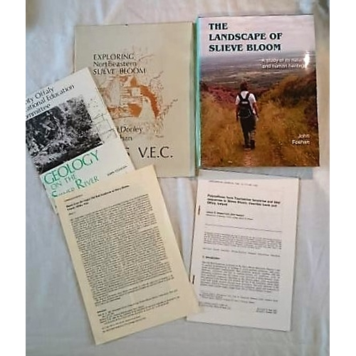 274 - Slieve Bloom: Landscape of Slieve Bloom (Reprint 2009); Two Booklets; Geology on the Silver River an...
