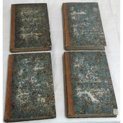 299 - Sancti Ambrosii Opera omnia. Paris. 1836. 4 vols. Attractive set in half-leather...