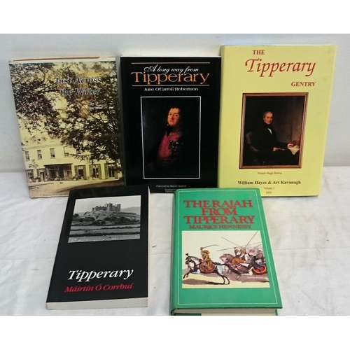 311 - Tipperary Related:  Just Across the Water. Dovea (1996), Hardback; The Rajah from Tipperary (1971); ...