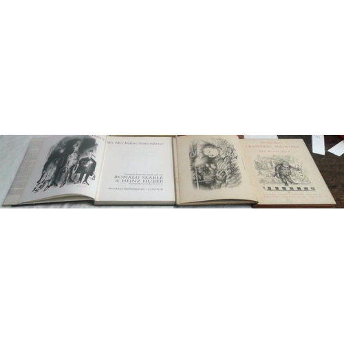 340 - Thomas Nast's Christmas drawings. 1890 & Haven't We met before somewhere by Richard Searle & Christm...