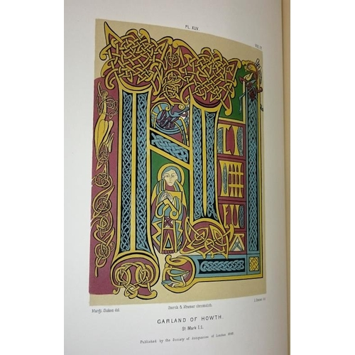 359 - Descriptive Remarks on Illuminations in Certain Ancient Irish Manuscripts by the Rev. James Henthorn...