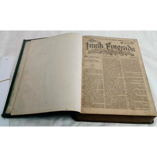 365 - The Irish Fireside. Fiction, Amusement, Instruction. Weekly Freeman. July 1883-June 1884. Scarce per...
