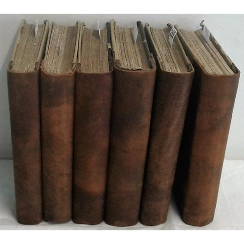 379 - History of the Irish Confederation. And the War in Ireland. John Gilbert. Dublin. 1890. 6 volumes...