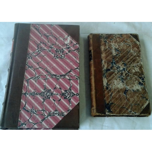 404 - Celebrated Crimes by Alexander Dumas. London. 1843. & George by Dumas. Paris. 1848. Both half-leathe...