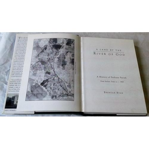 414 - Land by the River of God. History of Ferbane. Brendan Ryan. 1994...