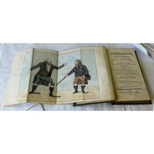 415 - A Fair Representation of the Present Political State of  Ireland. Patrick Duigenan. Dublin. 1800. Fo...
