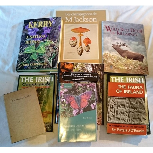 422 - Natural History: Webb,  An Irish Flora (1967); Gillmore, The Irish Countryside (1989); O'Rourke, The...