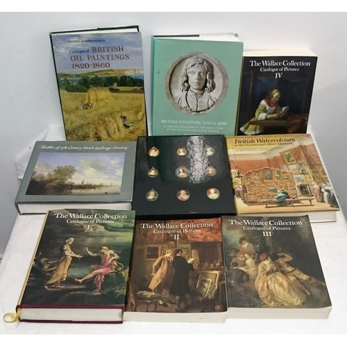 423 - Collection of Art and Sculpture Reference Books (9)...