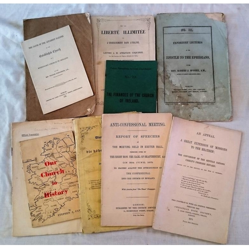 445 - Pamphlets (mostly religious): Failure of the Established Church as a  Missionary Church in Ireland (...