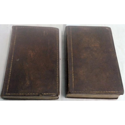 465 - Memoirs of George the Fourth by Robert Huish. London. 1831. 2 vols. Nice leather binding. leather bo...