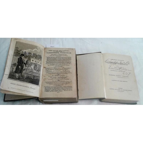 467 - A Description and History of  Vegetable Substances. London. circa 1840 &     Every Man his own Garde...
