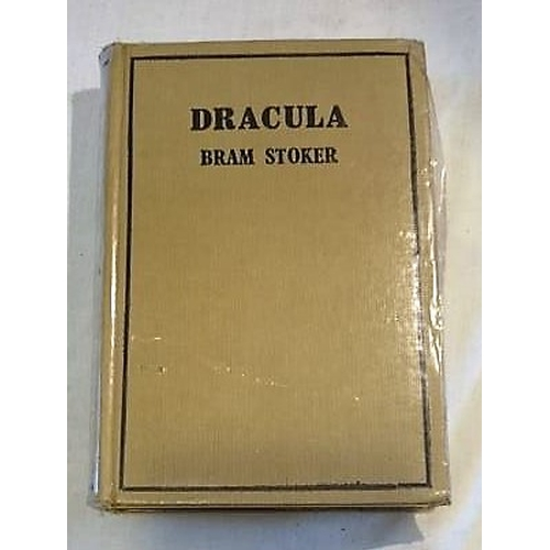468 - Bram Stoker, Dracula;  Translated into Gaeilge by Seán Ó Cuirrín, (1933). No dustjacket. (1)...