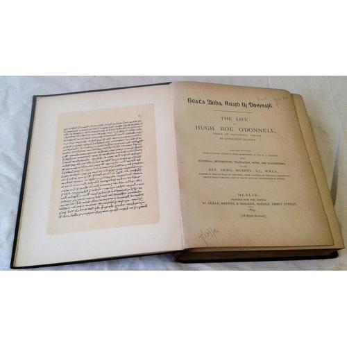 474 - Beatha Aodha Ruaidh Ui Domhnaill. The Life of Hugh Roe O'Donnell, Prince of Tirconnell [1586-1602] b...