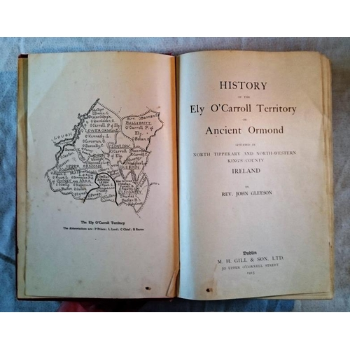 499 - Rev. John Gleeson, History of the Ely O'Carroll Territory (D. 1915). (1)....