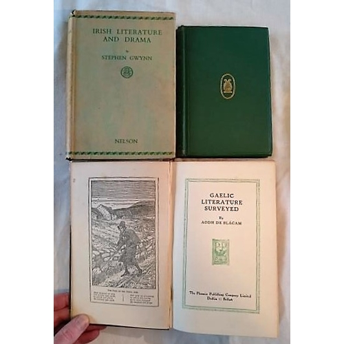 503 - H. R. Montgomery, Specimens of the Early Native Poetry of Ireland (D. 1892); Gwynn, Irish Literature...